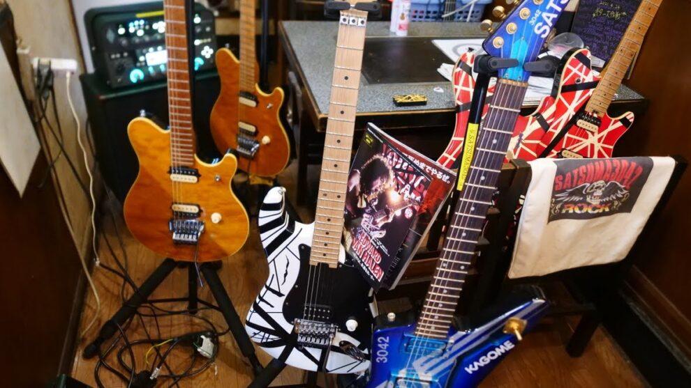 あれから一年。EVHギターが集合!